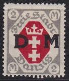Danzig Dienst Mi.-Nr. 13 F *