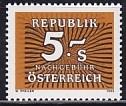 Österreich Porto Mi.-Nr. 260 **
