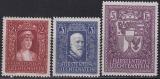 Liechtenstein Mi.-Nr. 140/42 ** Fotoattest