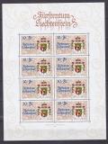 Liechtenstein Kleinbogen Mi.-Nr. 1136 **