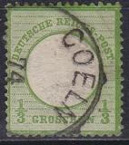 Deutsches Reich Mi.-Nr. 15 oo Postkarte