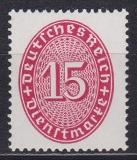 Deutsches Reich Dienst Mi.-Nr. 124 X **