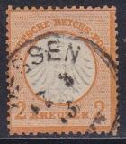 Deutsches Reich Mi.-Nr. 15 oo