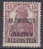 Allenstein Mi.-Nr. 4 a * gepr. BPP