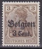 Landespost in Belgien Mi.-Nr. 11 b ** gepr. BPP