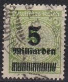 Deutsches Reich Mi.-Nr. 333 A P oo gepr.
