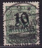 Deutsches Reich Mi.-Nr. 336 A Wa oo gepr.