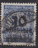 Deutsches Reich Mi.-Nr. 335 A P HT oo gepr. Viererblock