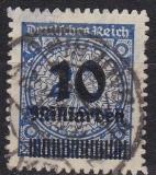 Deutsches Reich Mi.-Nr. 335 B P oo gepr.