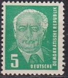 DDR Mi.-Nr. 322 za X II ** geprüft