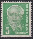 DDR Mi.-Nr. 322 zb X II ** geprüft