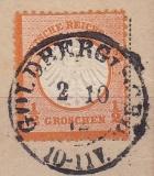 Deutsches Reich Mi.-Nr. 14 oo
