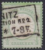 Deutsches Reich Mi.-Nr. 17 a oo