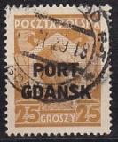 Danzig Port Gdansk Mi.-Nr. 19 b oo