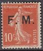 Frankreich-Militär-Feldpost Mi.-Nr. 5 **