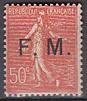 Frankreich-Militär-Feldpost Mi.-Nr. 6 **