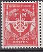 Frankreich-Militär-Feldpost Mi.-Nr. 12 b **