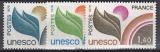Frankreich-UNESCO Mi.-Nr. 16/18 **