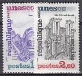 Frankreich-UNESCO Mi.-Nr. 27/28 **