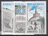 Frankreich-UNESCO Mi.-Nr. 34/36 **