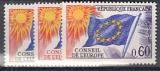 Frankreich-Europarat Mi.-Nr. 10/12 **