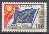 Frankreich-Europarat Mi.-Nr. 19 **