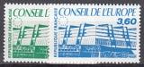 Frankreich-Europarat Mi.-Nr. 43/4 **