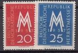 DDR Mi.-Nr. 596/7 **