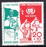 DDR Mi.-Nr. 645/46 **