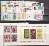 DDR Jahrgang 1968 postfrisch