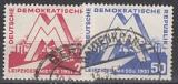 DDR Mi.-Nr. 282/83 oo
