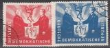 DDR Mi.-Nr. 284/85 oo