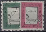 DDR Mi.-Nr. 598/99 oo