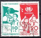 DDR Mi.-Nr. 645/6 oo