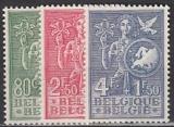 CEPT Vorläufer Belgien Mi.-Nr. 976/8 postfrisch
