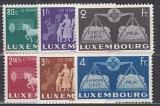 CEPT Vorläufer Luxemburg Mi.-Nr. 478/83 postfrisch