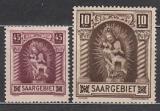 Saar Mi.-Nr. 102/03 **