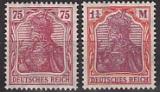 Deutsches Reich Mi.-Nr. 197/98 **