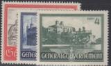 Generalgouvernement  Mi.-Nr. 63/65 **