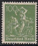 Deutsches Reich Mi.-Nr. 187 c ** gepr. BPP