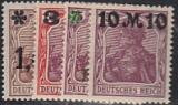 Deutsches Reich Mi.-Nr. 154/57 I **