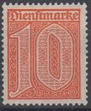 Deutsches Reich Dienst Mi.-Nr. 65 **