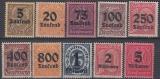 Deutsches Reich Dienst Mi.-Nr. 89/98 **