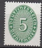 Deutsches Reich Dienst Mi.-Nr. 115 X **