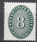 Deutsches Reich Dienst Mi.-Nr. 116 Xa **