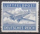 Deutsches Reich Feldpost Mi.-Nr. 1 B **