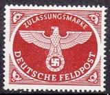 Deutsches Reich Feldpost Mi.-Nr. 2 A x **