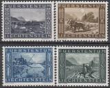 Liechtenstein-Mi.-Nr. 218/21 **
