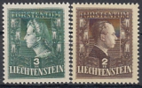 Liechtenstein-Mi.-Nr. 238/39 **