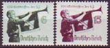 Deutsches Reich Mi.-Nr. 584/85 x **